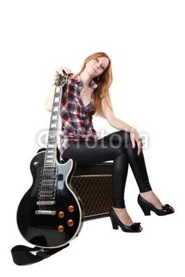 吉他 girl