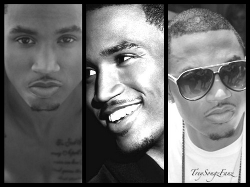 Trey Songz wallpaper containing sunglasses called my trey