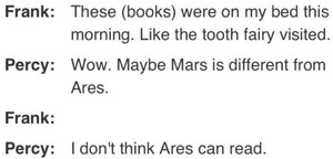 oh percy........your probably right