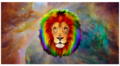 rainbow lion - lions photo