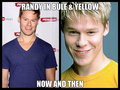 randy in  blue  - randy-harrison fan art
