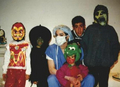rare halloween picture - prince-michael-jackson photo