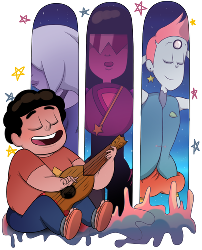 steven universe wallpaper with anime called Steven and The Crystal Gems
