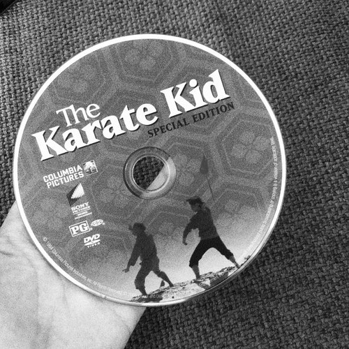 The Karate Kid wallpaper possibly with a turntable and a compact disk called the karate kid