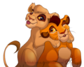 together - lion-king-couples photo