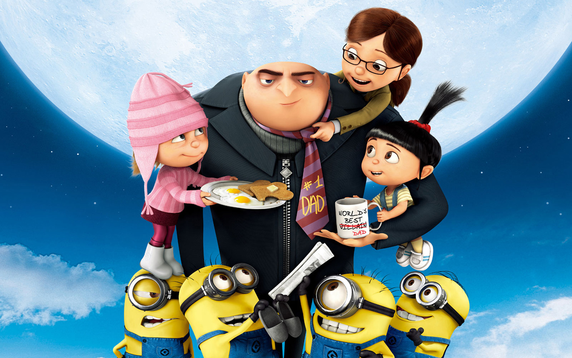 despicable me 2 club images world best dad???? hd wallpaper and