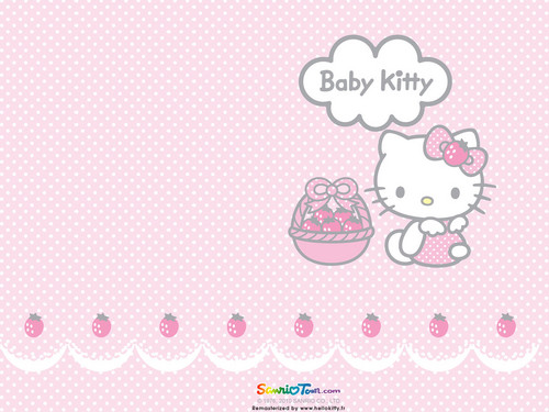 Hello Kitty wallpaper entitled yumi