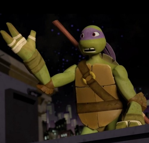 2012 Teenage Mutant Ninja Turtles wallpaper called Donatello!