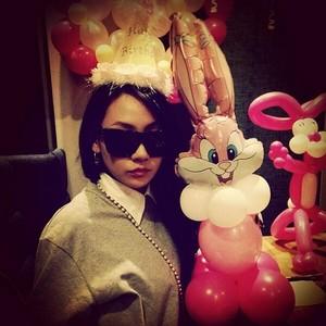 "CL's Instagram Update: itsnotevenmabirthday"" (131112)"