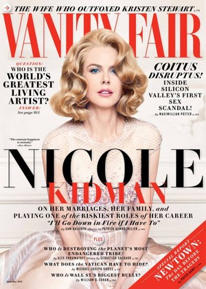 Nicole Kidman - Vanity Fair, Dec 2013