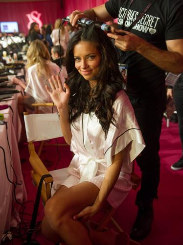 ऐड्रीयाना लीमा वॉलपेपर probably containing bare legs, a sign, and a चोली, ब्रासेरी titled Adriana Lima
