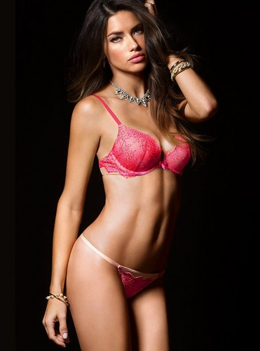 Adriana Lima wallpaper possibly containing a brassiere, a bikini, and an sollevamento, uplift called Adriana Lima
