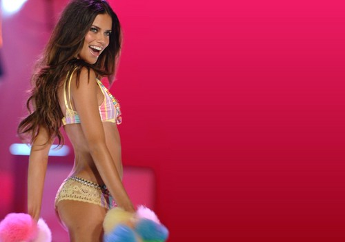 Adriana Lima wallpaper possibly containing a swimsuit, attractiveness, and a bikini titled Adriana Lima