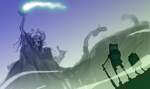 Adventure Time With Finn and Jake wallpaper called The Lich King