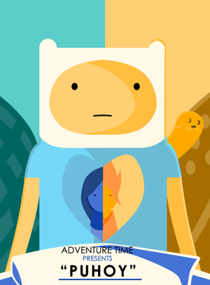 Adventure Time Puhoy art