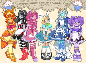 peppermint butler maid cafe