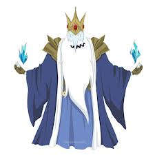 Adventure Time fond d'écran probably with a surcoat, surcot titled Ice King War outfit