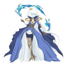 Ice Queen War outfit