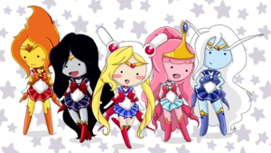 Sailor Moon Crossover
