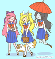 Sailor Adventure Time by gurglings - adventure-time-with-finn-and-jake fan art