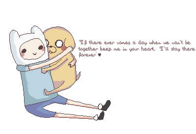 Adventure Time With Finn and Jake wallpaper containing anime titled Bromance