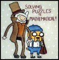 Solving Puzzles  - adventure-time-with-finn-and-jake fan art