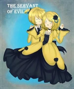 The servant of evil