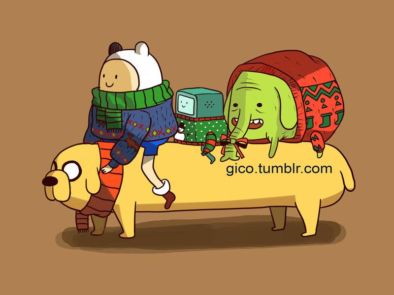 Adventure Time - Abenteuerzeit mit Finn & Jake Bilder Cold ...