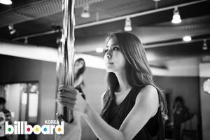 After School's candid shots for Billboard Korea