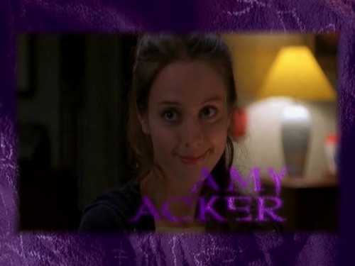 艾米·阿克 壁纸 probably containing a sign and a portrait entitled Amy Acker !