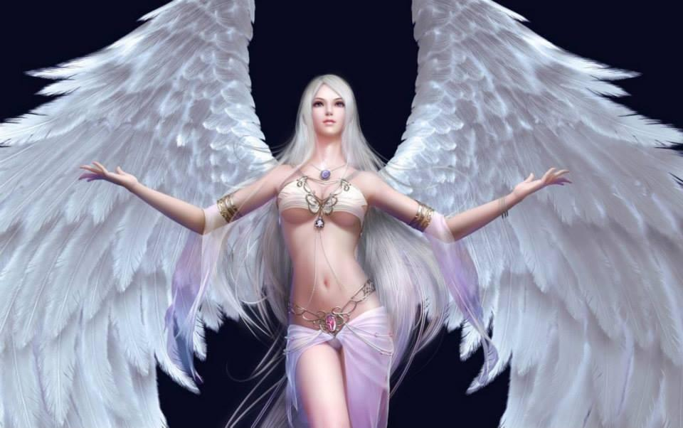 Lady Angel wings