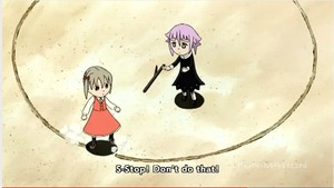 Little crona and maka^-^