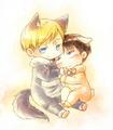 Erwin and Levi - anime fan art