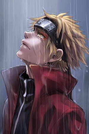 Naruto in The Rain