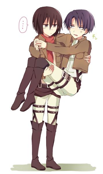 Mikasa & Levi