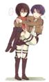 Mikasa & Levi - anime fan art