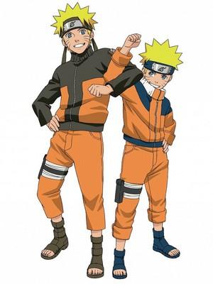 Naruto and lil Naruto
