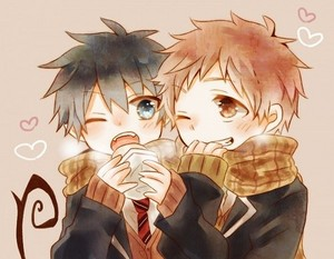Rin and Shima