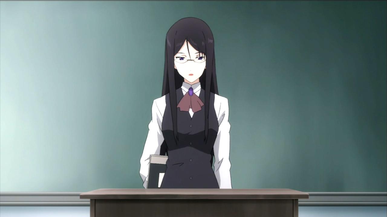 Anime High School Teacher