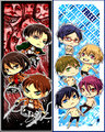 SNK and Free! - anime fan art