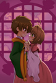 Syaoran x Sakura - anime fan art
