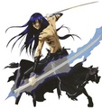 Yu Kanda and his Innocence weapon - anime photo
