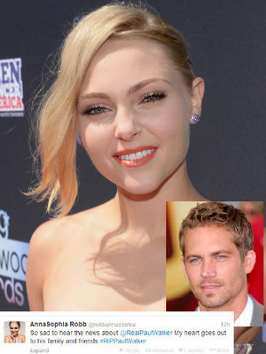 AnnaSophia Robb's Heartbreaker from Paul Walker
