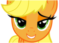 Applejack's love face - applejack photo