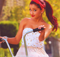 Taking a Bike Ride - ariana-grande photo