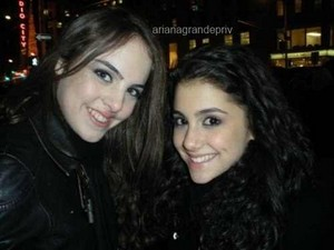 Ariana and Liz