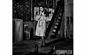 ariana in coat