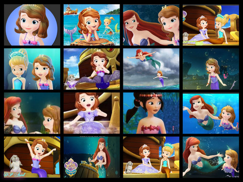 Ariel wallpaper titled Ariel on Sofia the First