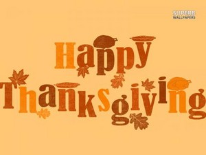 One 日 too late, Happy Thanksgiving to all those 你 who celebrate it!