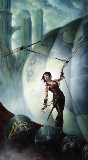 Asha Greyjoy by Michael C. Hayes